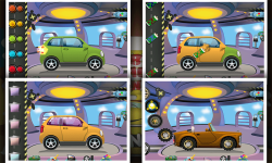 Halloween Car Garage Fun screenshot 3/6