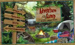 Free Hidden Object Game - Adventure Camp screenshot 1/4