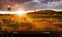 3D Sunrise Live Wallpapers screenshot 4/5