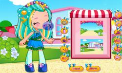 Shopkins Shoppies Bubbleisha Dress Up Game screenshot 1/3