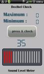 decibelMeter screenshot 1/3