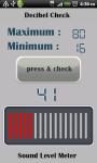 decibelMeter screenshot 3/3
