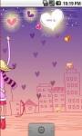 Cute Love Valentine Live Wallpaper screenshot 3/5