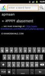 Hindi to English Dictionary on Android screenshot 1/3