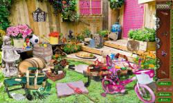 Free Hidden Objects Game - Garden Treasure screenshot 3/4