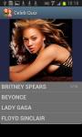 Great Celebrity Quiz screenshot 2/6