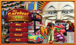 Free Hidden Objects Games - The Carnival Park screenshot 1/4