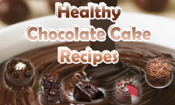 Healthy Chocolate Recipes - Cake Chip and Cookies screenshot 1/6