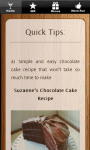 Healthy Chocolate Recipes - Cake Chip and Cookies screenshot 4/6