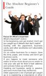 Business Start Up Advices screenshot 1/1