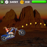 Girls Stunt Rider screenshot 1/3