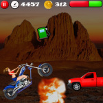 Girls Stunt Rider screenshot 2/3