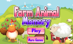 Farm Animal Memory screenshot 1/4