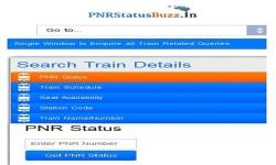 PNR Status Buzz screenshot 1/5