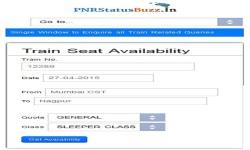 PNR Status Buzz screenshot 3/5