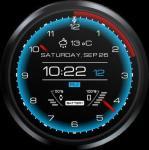 Futuristic Watch Face primary screenshot 3/6