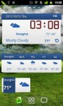 GO Weather Blue Classic Widget screenshot 6/6