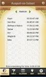 Auqat e Salat Android screenshot 2/6