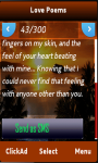 Love Poems SMS Collection screenshot 1/3