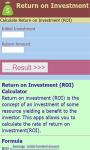 Return on Investment Calculator screenshot 2/3