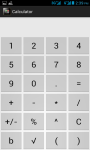 Calculator plus currency converter screenshot 1/3