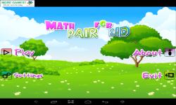 Math Pair For Kids screenshot 1/5
