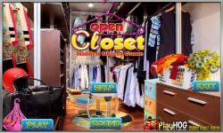 Free Hidden Object Games - Open Closet screenshot 1/4