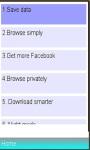 New opera mini web browser screenshot 1/1