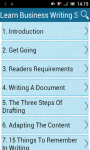 Learn Business Writing Skills screenshot 1/3