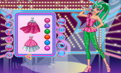 Barbie Rock N Royals Style Dress Up Game screenshot 3/3