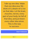 1001 motivational quotes screenshot 2/6