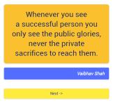 1001 motivational quotes screenshot 4/6