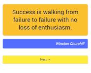 1001 motivational quotes screenshot 5/6