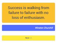 1001 motivational quotes screenshot 6/6