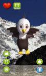 Talking Baby Eagle screenshot 2/3