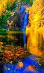 Colorful Waterfall LWP screenshot 2/3