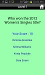 Unofficial US Open Tennis Quiz screenshot 3/4