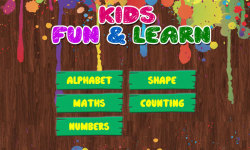 Kids Fun and Learn screenshot 1/6