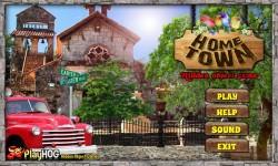 Free Hidden Object Games - Home Town screenshot 1/4