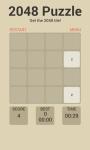 2048 Puzzle Game Free screenshot 4/6