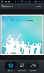 Party Invitation Lite screenshot 4/4