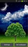 Night Tree Live Wallpaper screenshot 1/3