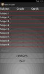 Smart GPA Calculator screenshot 2/5
