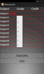 Smart GPA Calculator screenshot 3/5
