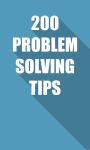 200 PROBLEM SOLVING TIPS screenshot 1/4