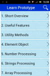 Learn Prototype screenshot 1/2