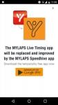 MYLAPS Live Timing alternate screenshot 4/6