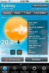 Weatherzone Plus screenshot 1/1