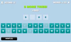 1 Word 10 Tries screenshot 1/4