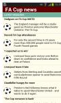 The FA Cup updates screenshot 1/3